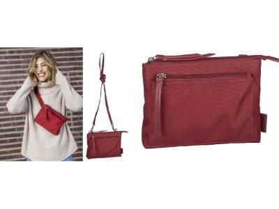 Handtasche/Gürteltasche Bergen Red