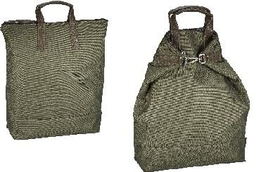 Jost X-Change Rucksack/Tasche Bergen klein Oliv