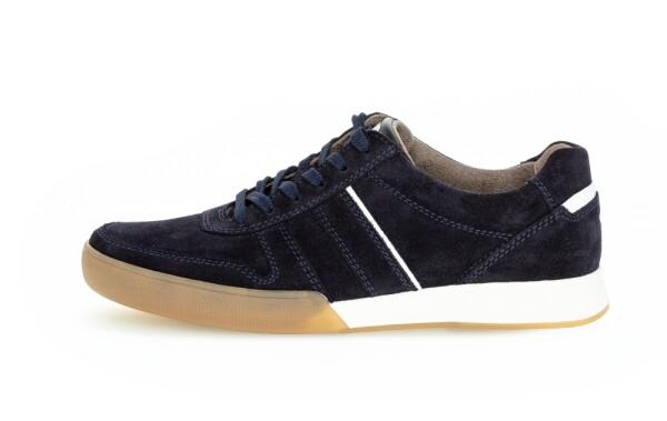 Pius GaborSneaker  blau Velour