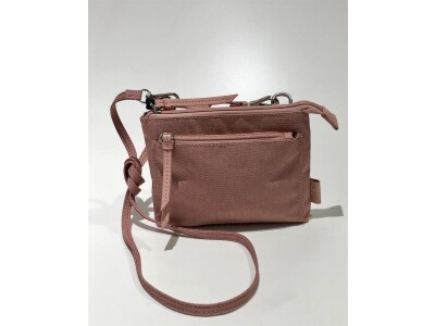 Handtasche/Gürteltasche Bergen Rosewood