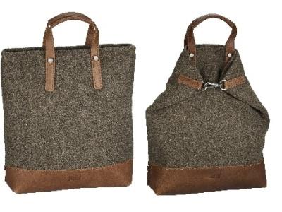 X-Change Rucksack/Tasche Farum groß Braun