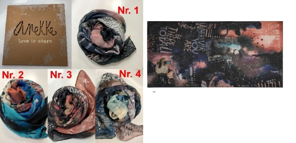 Anekke Stars & Planet Schal 1