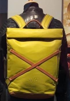 aunts & uncles Japanserie Daypack mit Laptop-Fach 15'' Golden Verde