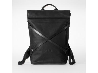 Japanserie Daypack mit Laptop-Fach 15'' Black