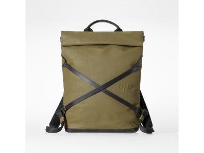 Japanserie Daypack mit Laptop-Fach 13'' Olive