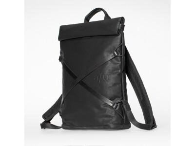 Japanserie Daypack mit Laptop-Fach 13'' Black