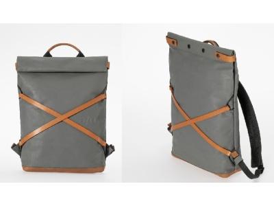 Japanserie Daypack mit Laptop-Fach 13'' Gravity Grey