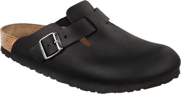 BirkenstockBoston schwarz Leder