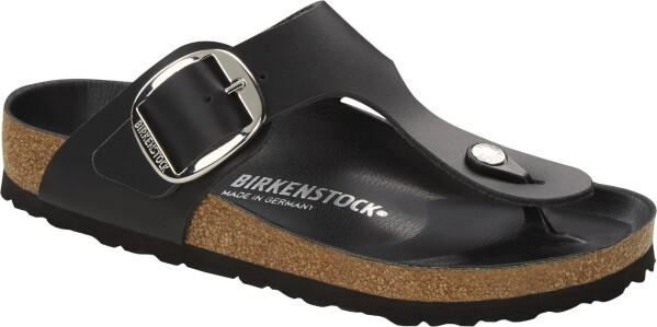 BirkenstockGizeh, schwarz Leder SFB