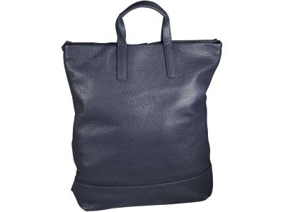 X-Change Rucksack/Tasche Leder groß Black