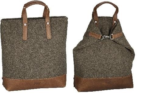 Jost X-Change Rucksack/Tasche Farum groß Braun