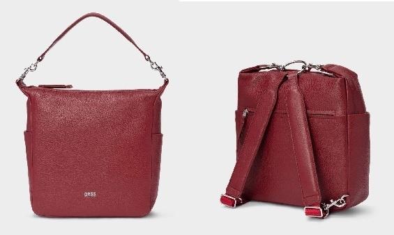 BreeNola 10 darkred Handtasche/Rucksack