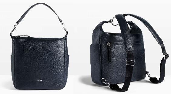 BreeNola 10 Navy Handtasche/Rucksack