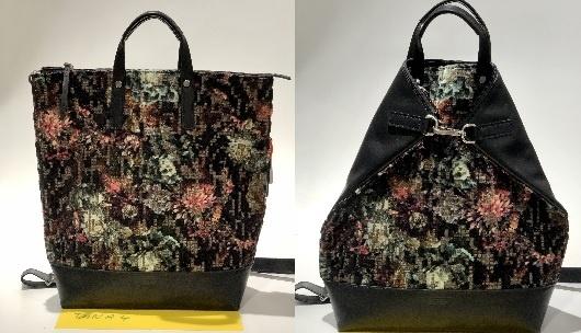 JostX-Change Rucksack/Tasche groß Black/bunt