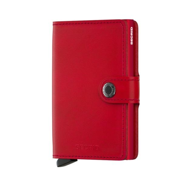 Secrid Miniwallet original red red