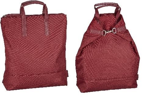 Jost X-Change Rucksack/Tasche Bergen klein Red