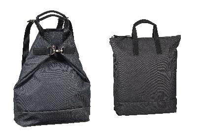 Jost X-Change Rucksack/Tasche Bergen klein Darkgrey