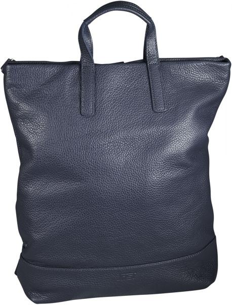 Jost X-Change Rucksack/Tasche Leder groß Black