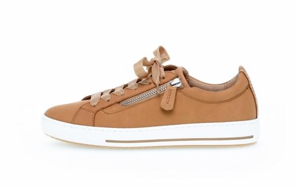 GaborDamen Sneaker in braun nubukleder