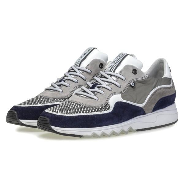 Floris van BommelMinti, Sneaker grau blau kombi