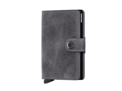 Miniwallet vintage grey black