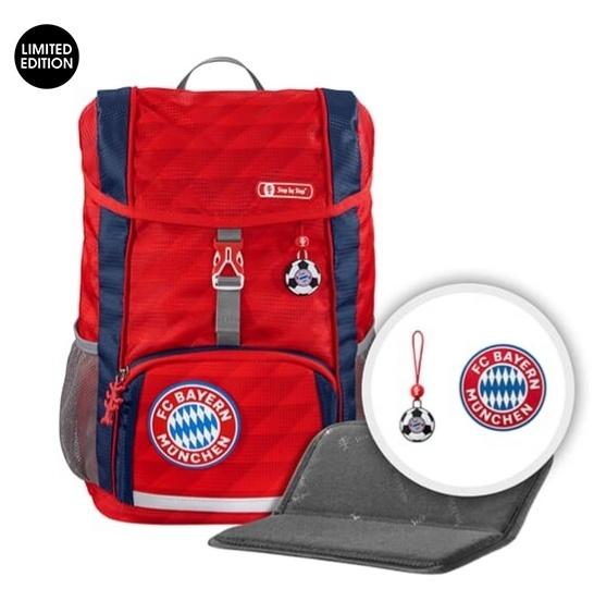 "Step by StepRucksack-Set ""KID"", FC Bayern, Mia san Mia"