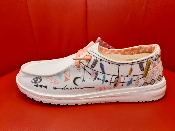 Hey Dude ShoesWENDY DOODLE STAR WHITE