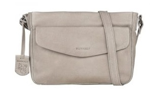 Just Jackie CROSSOVER L FLAP light grey
