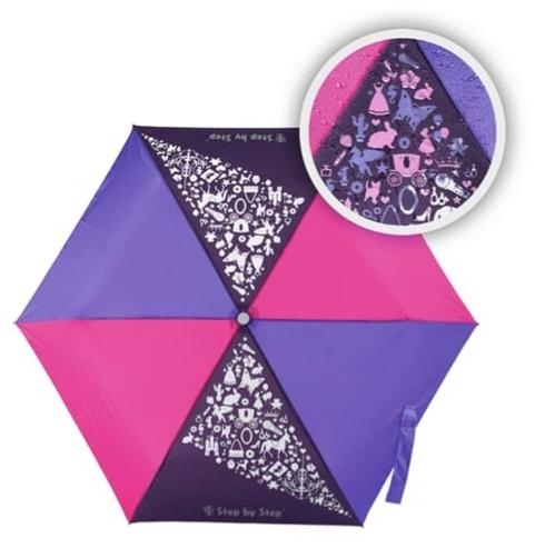 Step by StepRegenschirm Purple & Rose