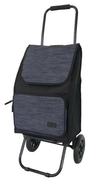 FrankyEinkaufsroller ER01 Muster blue stripe