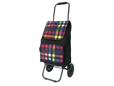 Einkaufsroller ER01 Muster multicolor check