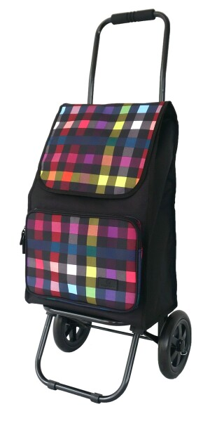 FrankyEinkaufsroller ER01 Muster multicolor check