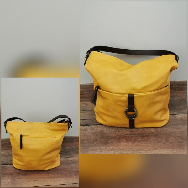 Emily & NoahHandtasche gelb groß E&N