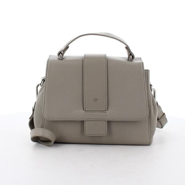 FrankyHandtasche H01 aus Leder grau