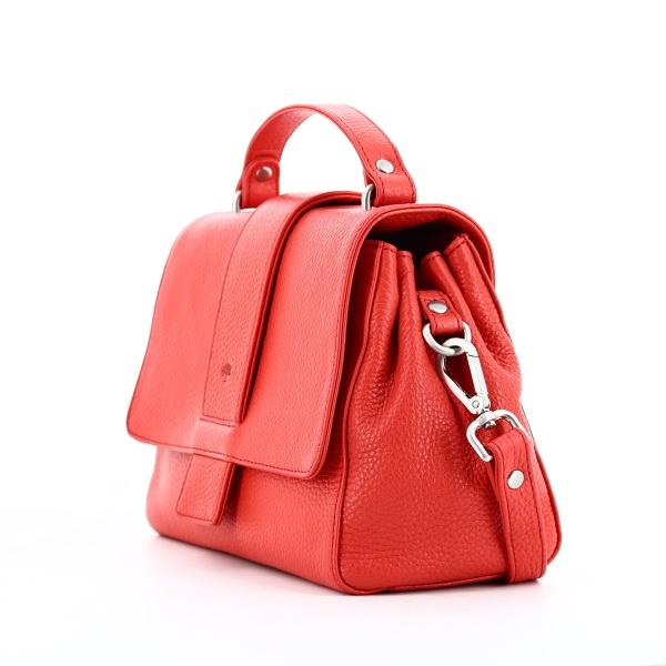 FrankyHandtasche H01 aus Leder rot
