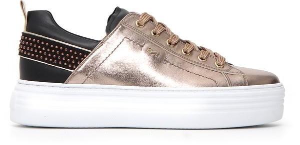Nero GiardiniSneaker, bronce metallic