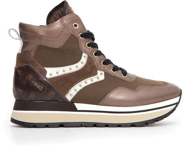 Nero GiardiniSneaker Boot, bronce Metallic