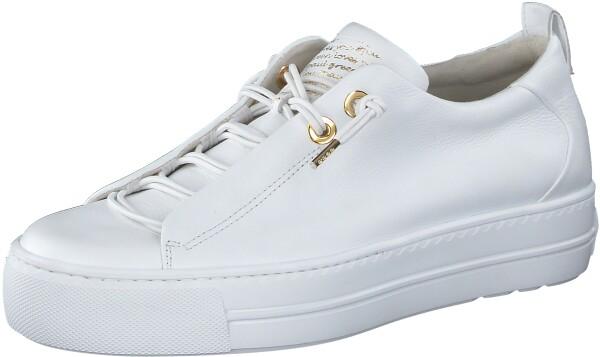 Paul GreenSneaker, weiß gold kombi