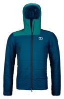 OrtovoxZinal Jacket M petrol blue