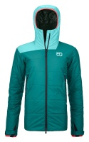 OrtovoxZinal Jacket W pacific green
