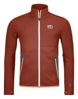 OrtovoxFleece Jacket M clay orange