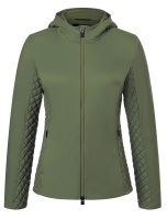 KjusWomen Macuna Hood  Insul Jacket green
