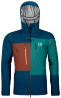 OrtovoxDeep Shell Jacket M petrol blue