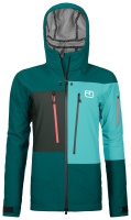 OrtovoxDeep Shell Jacket W pacific green