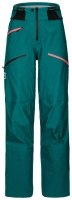 OrtovoxDeep Shell Pants W pacific green