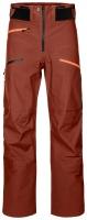 OrtovoxDeep Shell Pants M clay orange