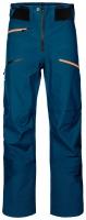 OrtovoxDeep Shell Pants M petrol blue