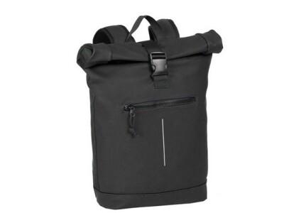 Rucksack mit Rolltop schwarz