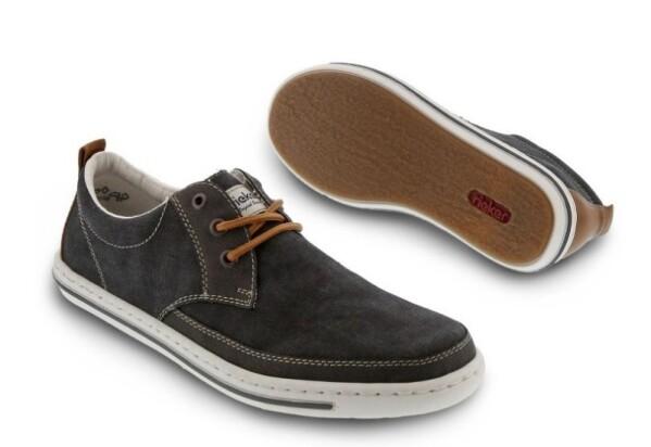 RiekerHerren Sneaker grau
