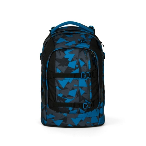 Satch by Ergobag Satch pack Blue Triangle